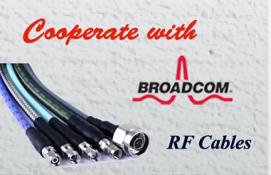 Saluki RF Cable Used in Broadcom (Avago) R&D